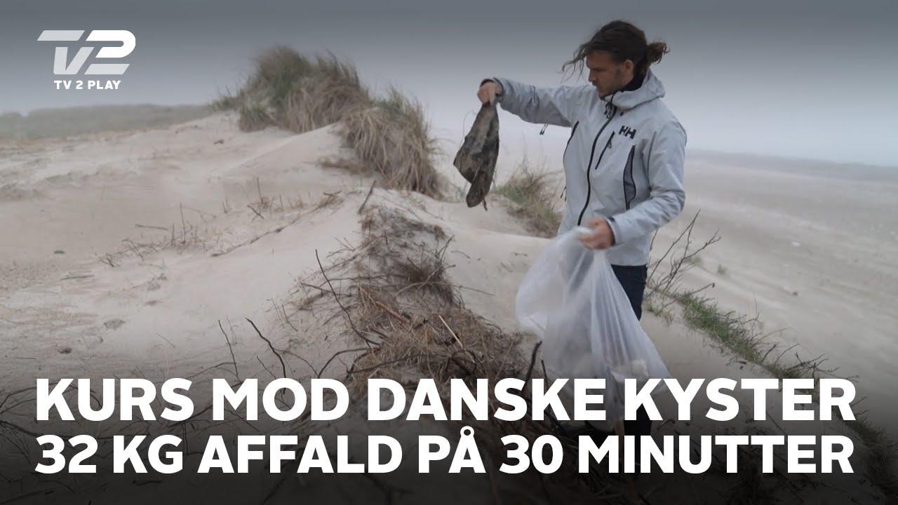 Kurs mod danske kyser | 32 kg plastikaffald på 30 minutter | TV 2 PLAY