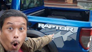 Super-pikap Ford Ranger Raptor dan adik kembar lapan dah mendarat