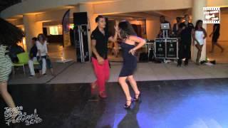 Adolfo Indacochea & Katy Khadija - social dancing @ Tabarka Salsa Festival 2012