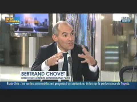 Bertrand Chovet, Managing Director Interbrand Paris revient sur les Best Global Brands 2012