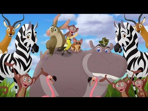 Lion Guard: Makin' Hippo Lanes! | Beshte And The Hippo Lanes HD Clip