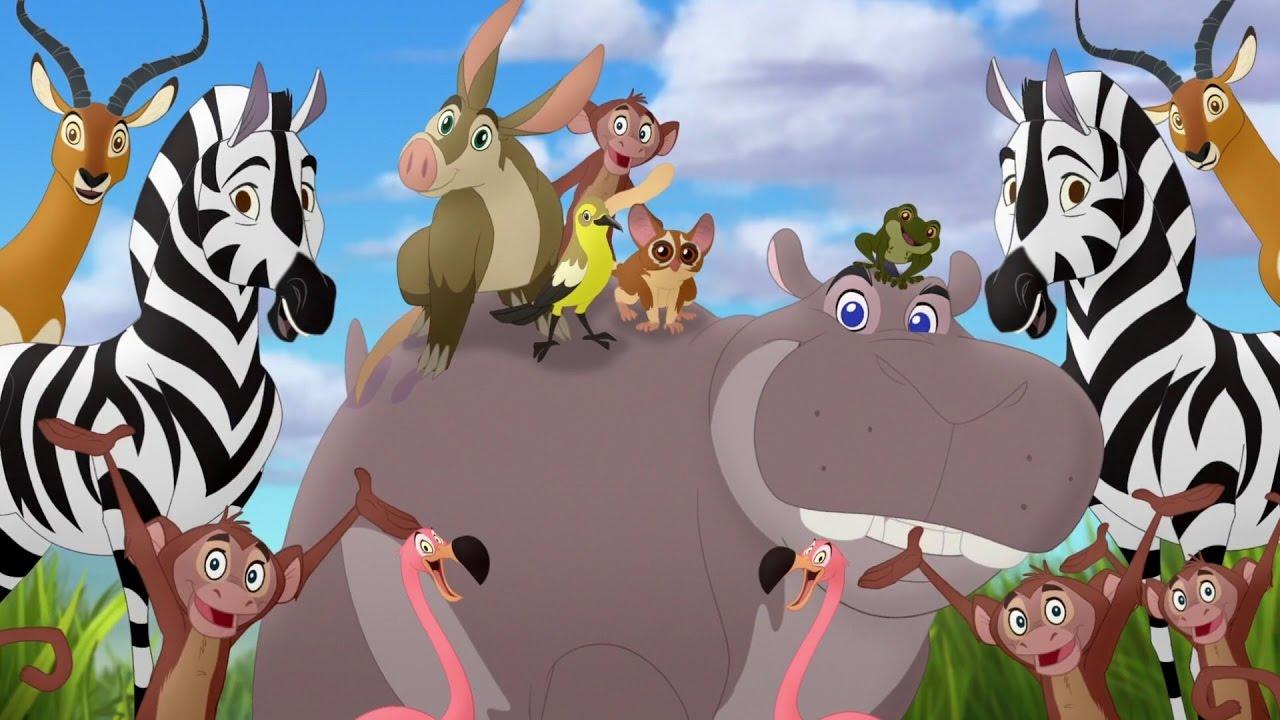 Lion Guard Makin Hippo Lanes Beshte And The Hippo