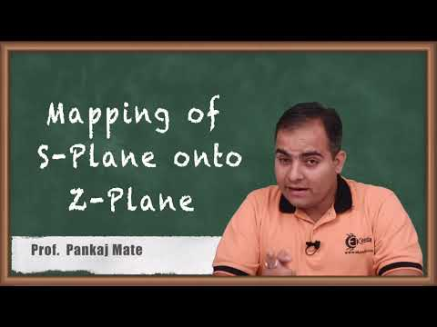 Mapping Of S Plane Onto Z Plane -  Z Transform - Signals And Systems