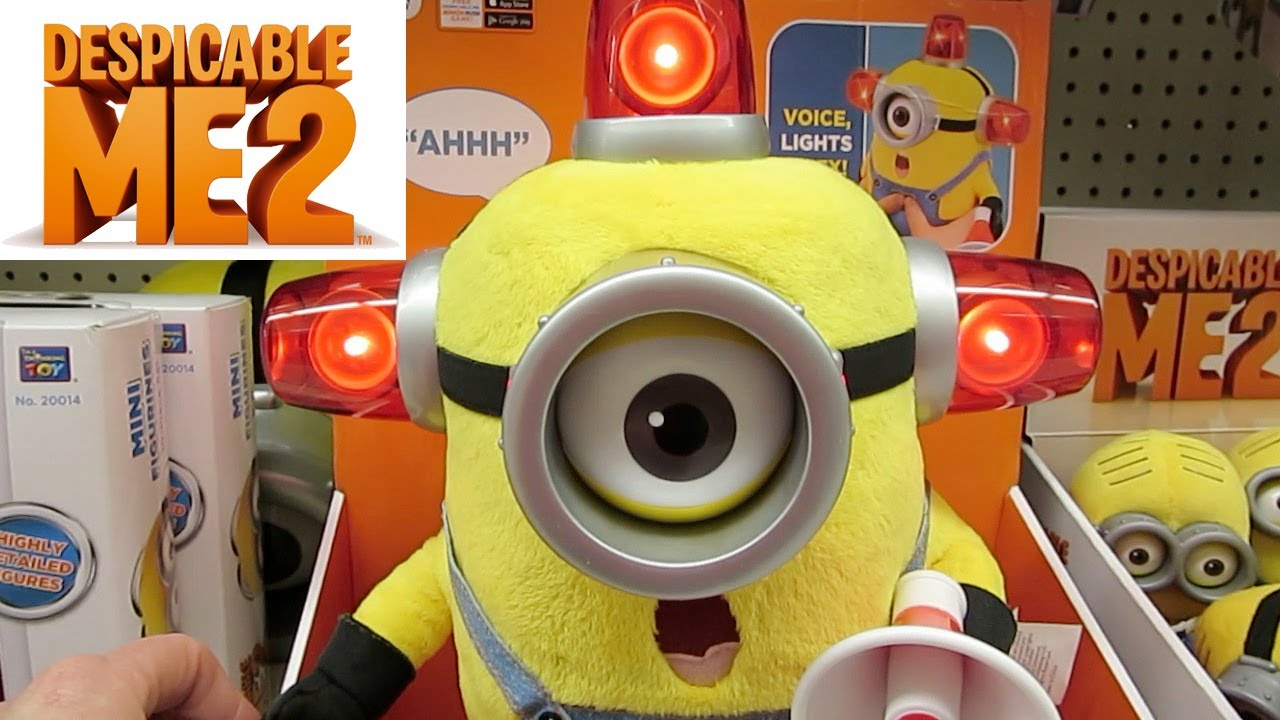 Despicable Me Minion Made Toys In Store Preview Toys R Us