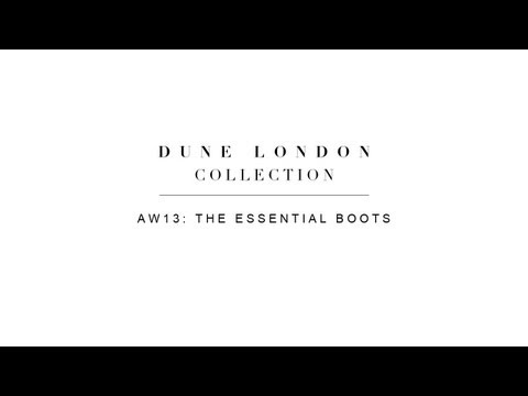 Dune London: The Essential Boot Collection