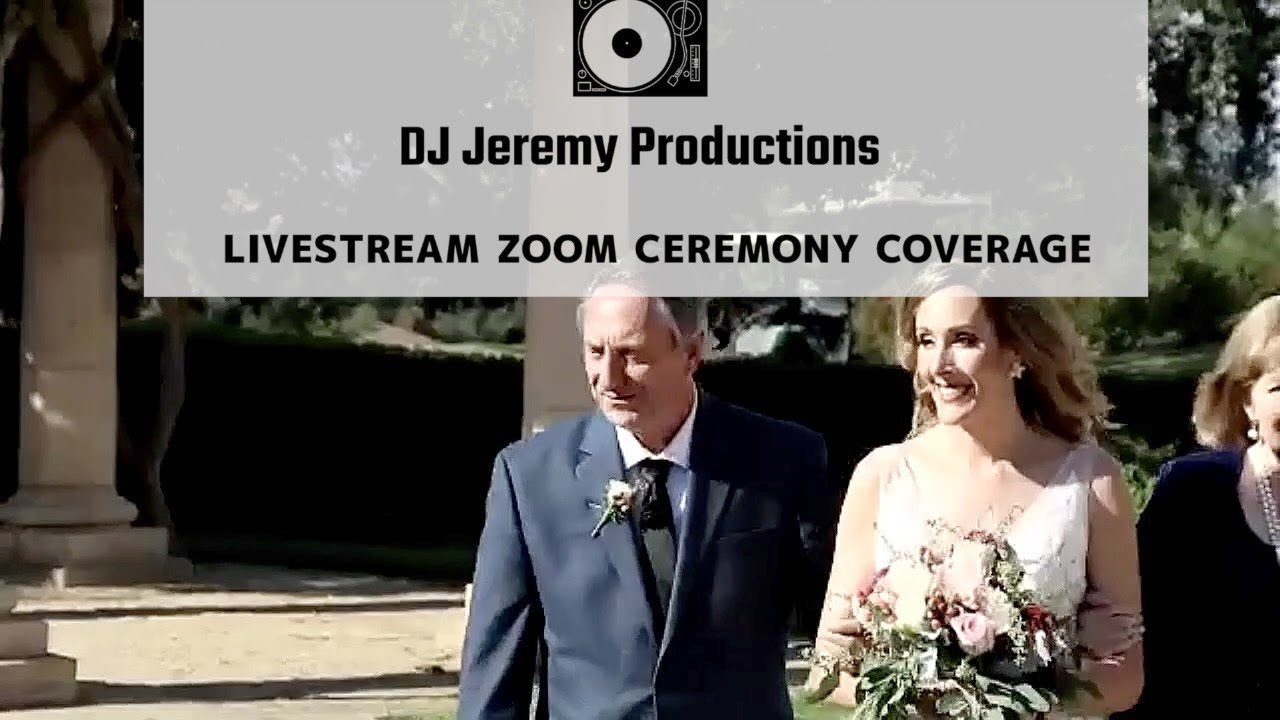 Pleasanton Zoom Wedding | Livermore Zoom Wedding | Virtual Wedding | Live Stream Wedding