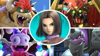 Hero vs All Bosses in Super Smash Bros Ultimate