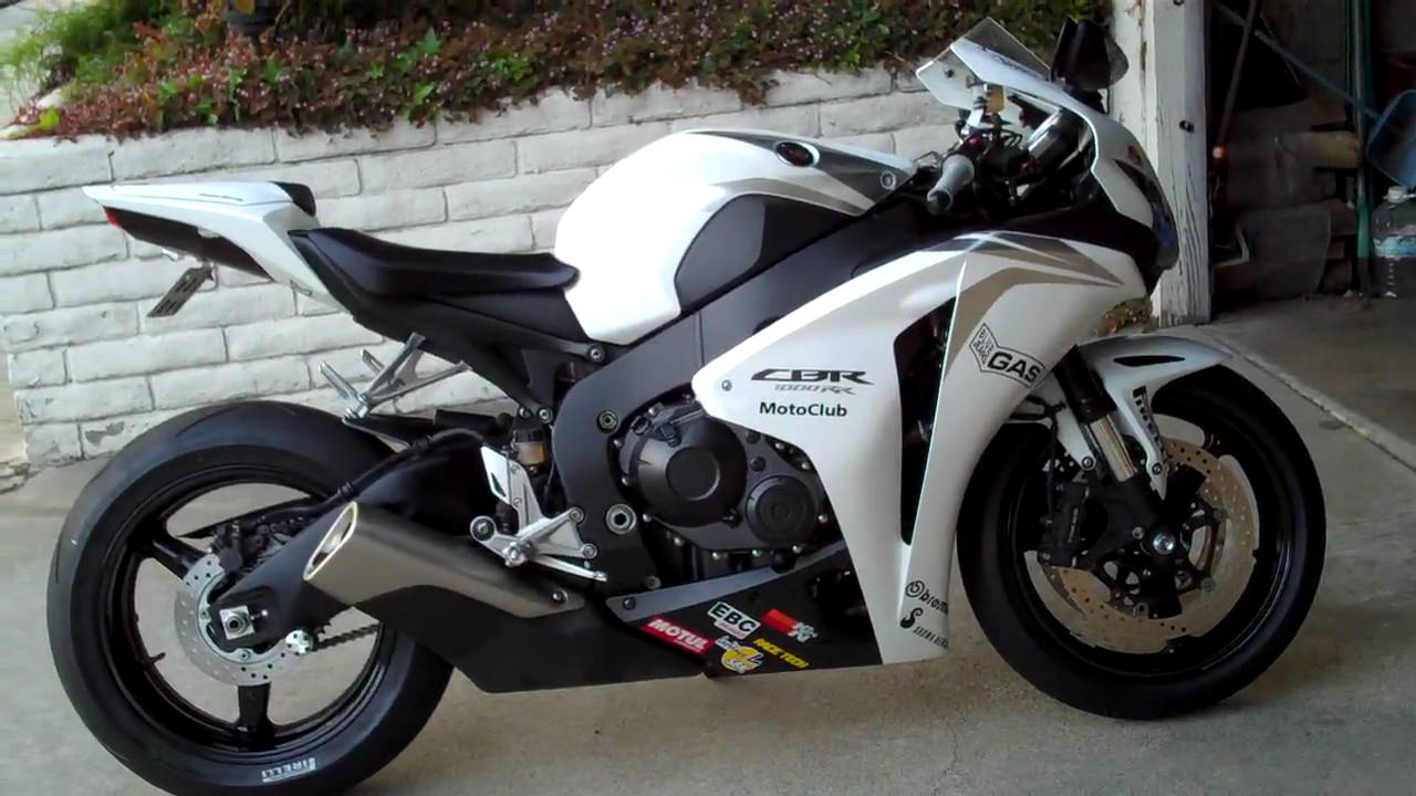 2009 Honda Cbr 1000rr Fireblade White Amp Black Youtube