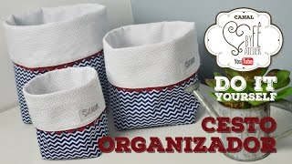 DIY: Cesto Organizador – By Fê Atelier