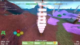 Dinosaur Simulator - Roblox [] Playing as Glass Pue!