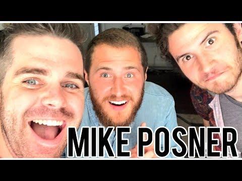 MIKE POSNER!! (pop star, musician, great guy)