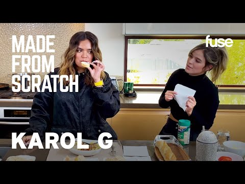 KAROL G & Her Sister Cook & Reminisce On Growing Up In Colombia | Made from Scratch | Fuse