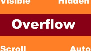 Overflow: Visible/Hidden/Scroll/Auto & Float [Learn CSS step by step in Arabic #26]