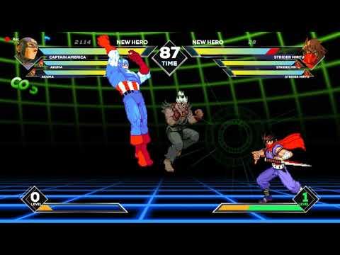 Marvel vs Capcom Extreme - 05/08/2019 Update (Counter W.I.P.)