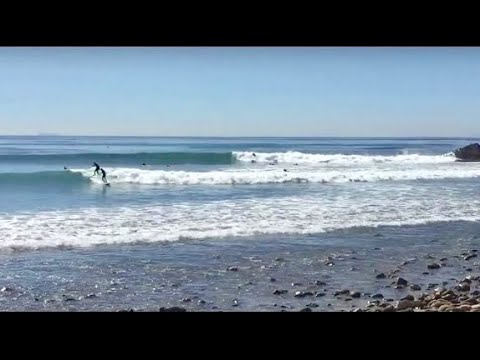Leo Carillo 8 SURF POINT VIDEO