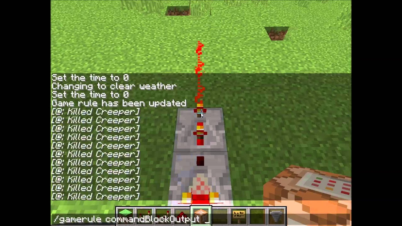 how to clear a large area in minecraft with commands