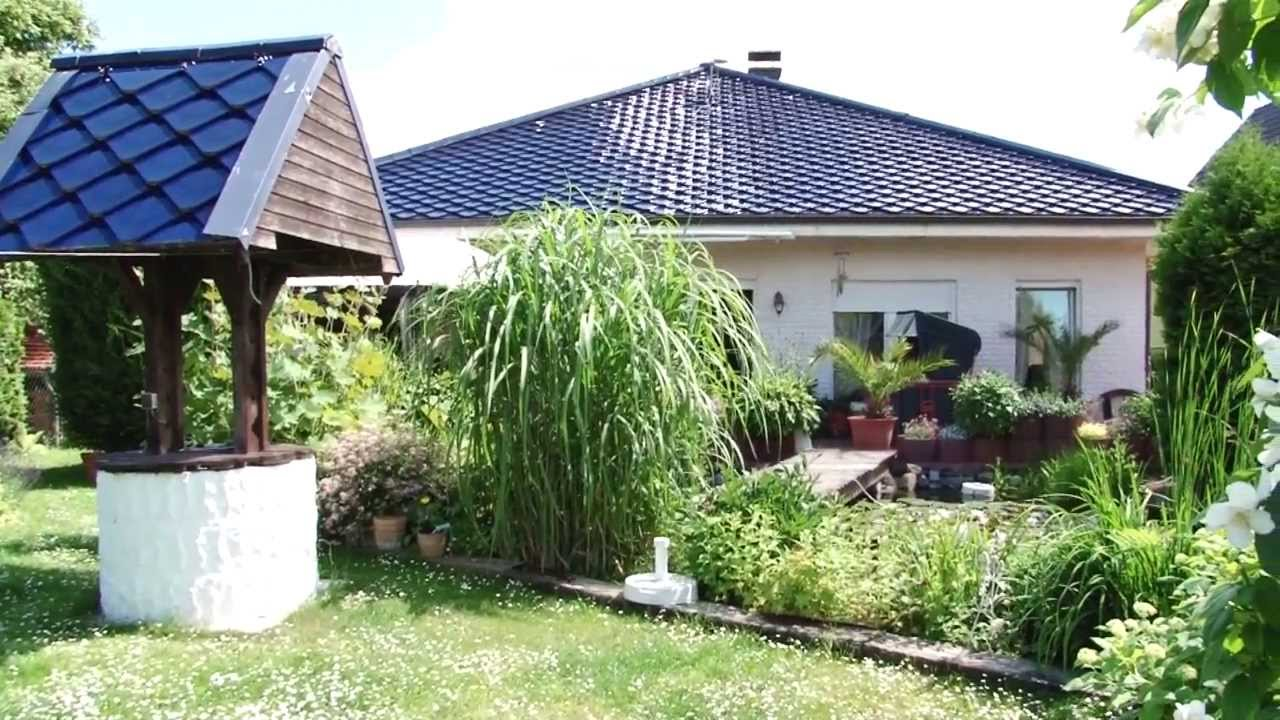 ahi immobilien bungalow mit wintergarten in bernau bei berlin youtube. Black Bedroom Furniture Sets. Home Design Ideas