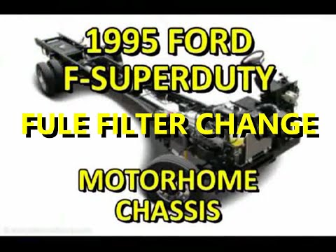 changing the fuel filter on an airstream motorhome youtube. Black Bedroom Furniture Sets. Home Design Ideas