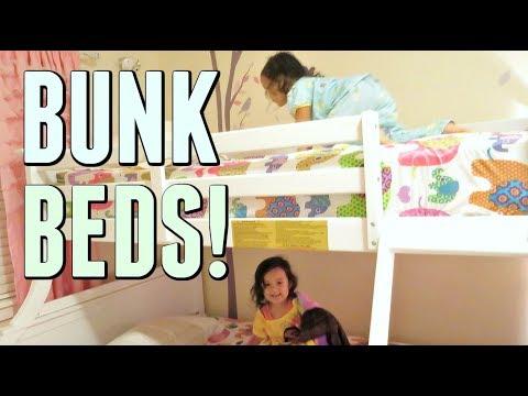 FINALLY THEIR BUNK BEDS! - September 01, 2017 -  ItsJudysLife Vlogs