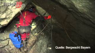 Höhlen-Drama in Berchtesgaden: Drei Retter im Interview
