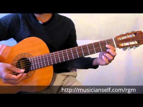 Raga Guitar Mastery Begins - C major scale to Basic Indian Raga Mayamalavagowla (Carnatic Classical)