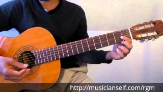 Raga Guitar Mastery Begins - C major scale to Basic Indian Raga Mayamalavagowla (Carnatic Classical)