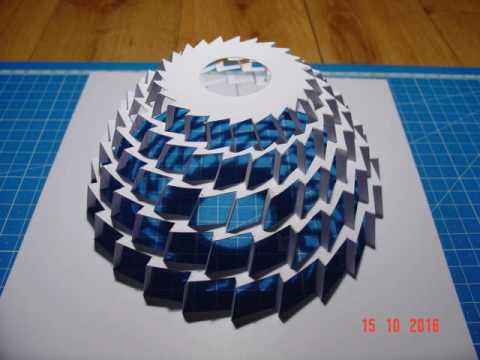 How To Make A Paper TOWERwith Instruction Pattern