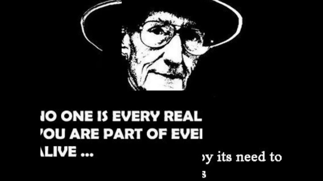 Top Best William S Burroughs Quotes Youtube
