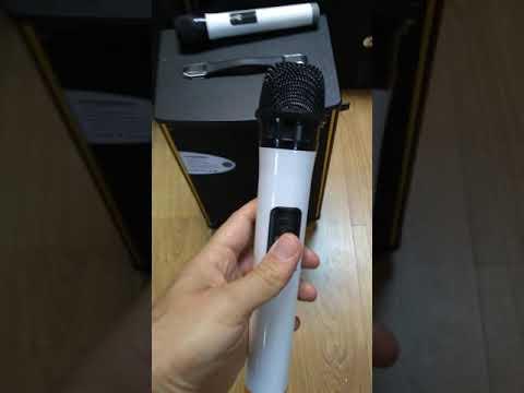Активная колонка SA1-10. Www.texkontora.com.ua Аккумуляторная акустика + радиомикрофоны