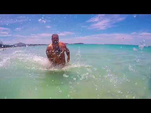 koh samui Chaweng beach 2015 . gopro hero 4 black