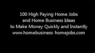 Legitimate stay at home jobs and ways to make extra money fast. Home businesses. Home Jobs.