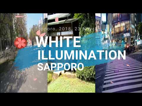 Sapporo White Illumination 23 Nov. 2018