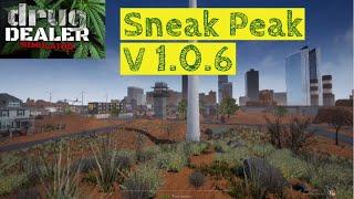 Sneak Peak Update Patch v 1.0.6 Remastered Map | Drug Dealer Simulator | Tips & Tricks