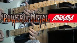 Power Metal Angkara Cover dan Tutorial Gitar Komplit Full