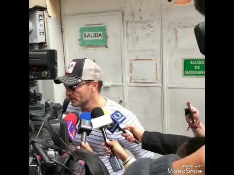 Julian Gil y su hijo Matias porfin se encuentran despues de tres meses