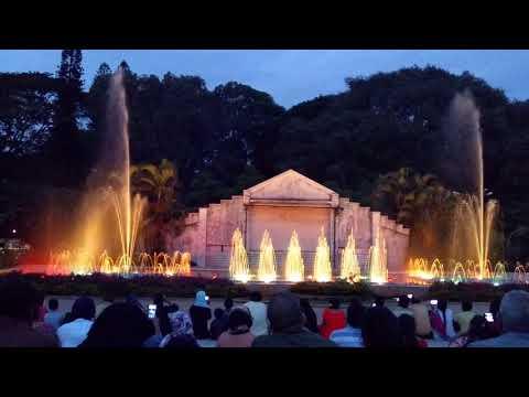 Indira Gandhi musical fountain, Bangalore