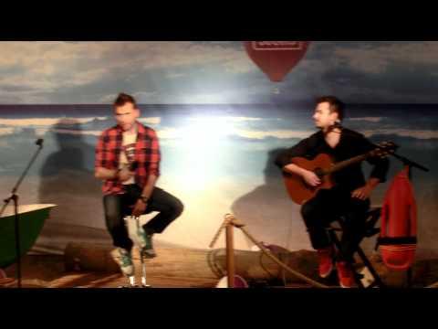 Koit Toome and Jorma Puusaag small acoustic concert at Solaris Keskus HD Pt.1