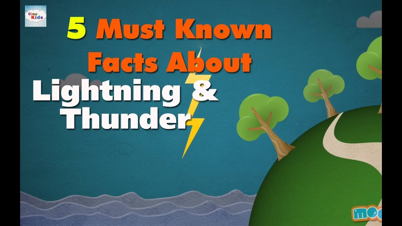 5 Must Known Facts About Lightning & Thunder - YouTube