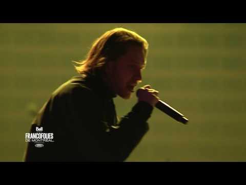 Youtube: Les chouchous de la scène rap québécoise: Loud Lary Ajust lors du show d'ouverture des Francos