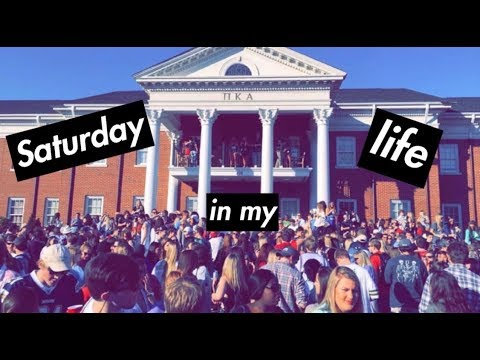SATURDAY AT THE UNIVERSITY OF ALABAMA