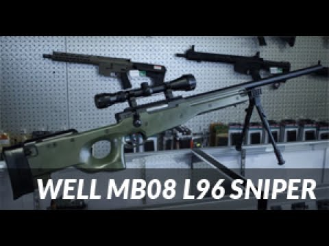 WELL MB08, The Airsoft L96 Sniper Rifle Review