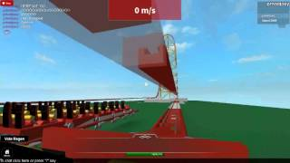 Roblox top thrill dragster rollback