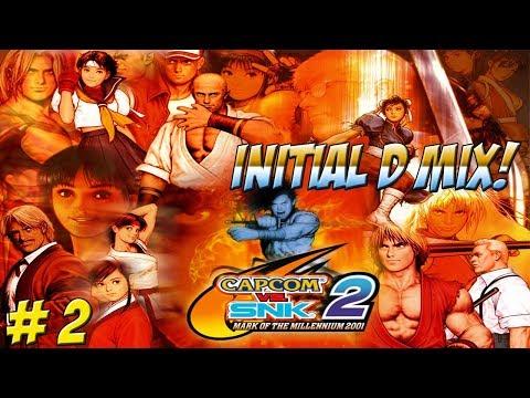 Dreamcast: Capcom vs SNK 2 Initial D Mix! Part 2 - YoVideogames - 동영상