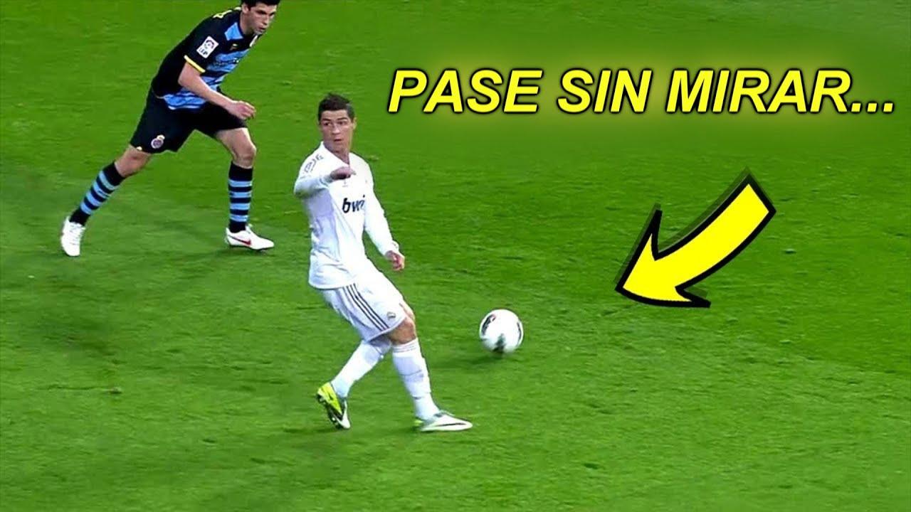 Pases SIN MIRAR En El Fútbol (Magia Pura) ?