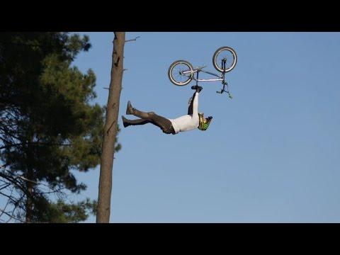 BMX BIG AIR - Flip Double Seat Grab By Patrick Guimez (World First)