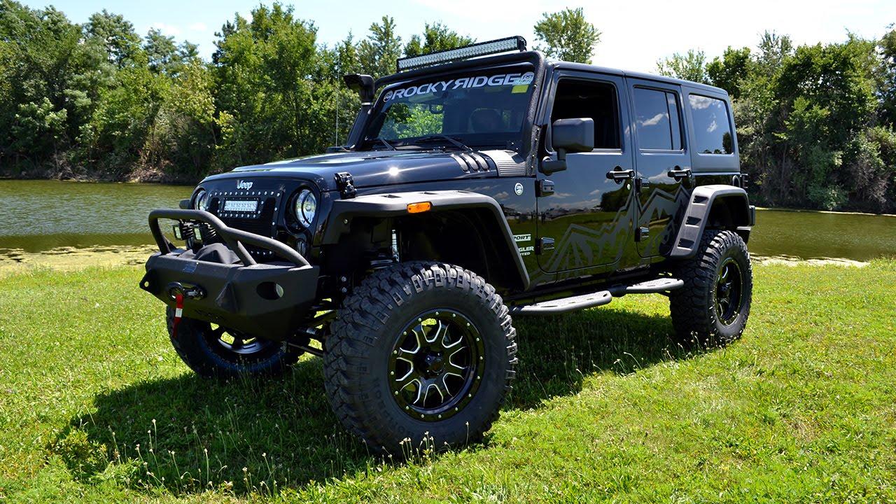 2015 Jeep Wrangler Unlimited Sport Rocky Ridge Pinnacle In Depth