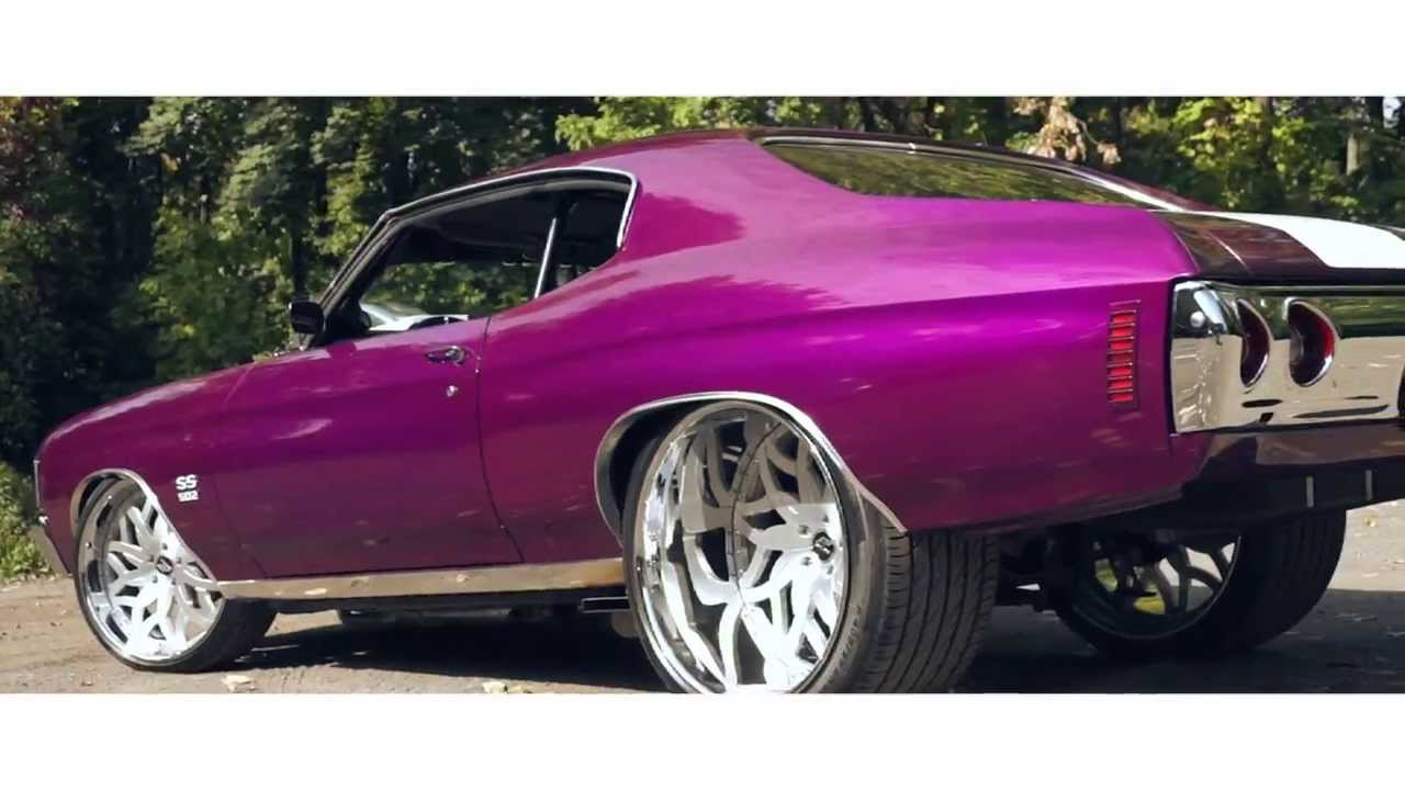 72 Chevelle SS On 24x15 Amani Forged Vito Wheels YouTube
