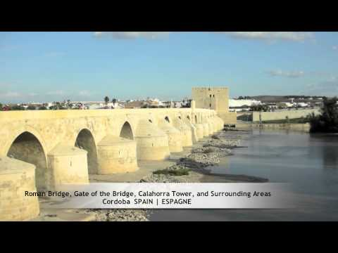 Roman Bridge, Gate of the Bridge, Calahorra Tower, and Surrounding Areas, Cordoba (SPAIN)