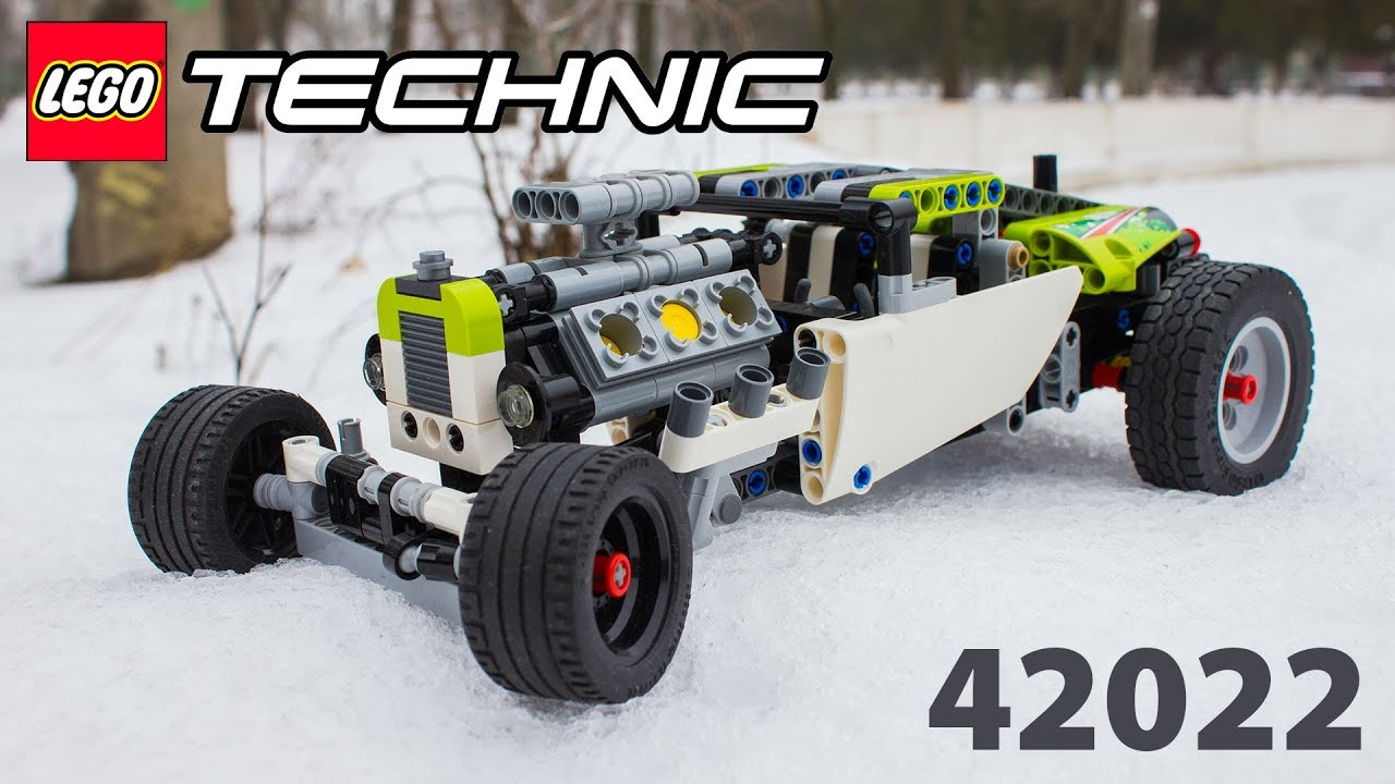 lego technic 42022 hot rod youtube. Black Bedroom Furniture Sets. Home Design Ideas