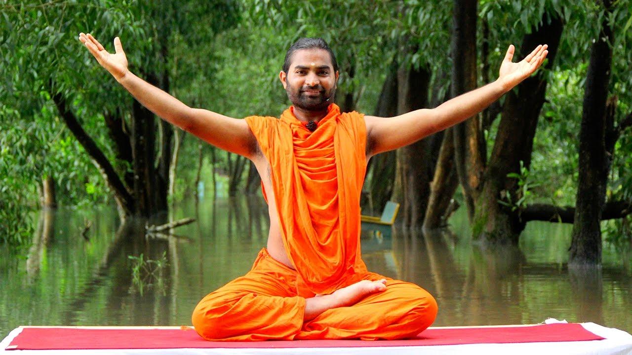 Learn Yoga from Swaasha Guru, Sri Vachananand Swamiji on Liveday - YouTube